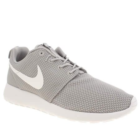 light grey roshe one, part of the mens nike trainers range available at  schuh