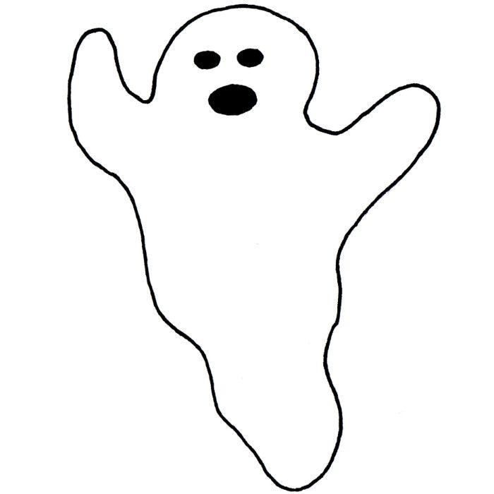 Tolle Halloween Geist Vorlage Zeitgenössisch - Dokumentationsvorlage ...