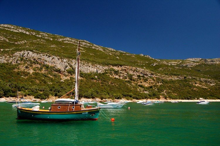 Numa qualquer ilha grega!?