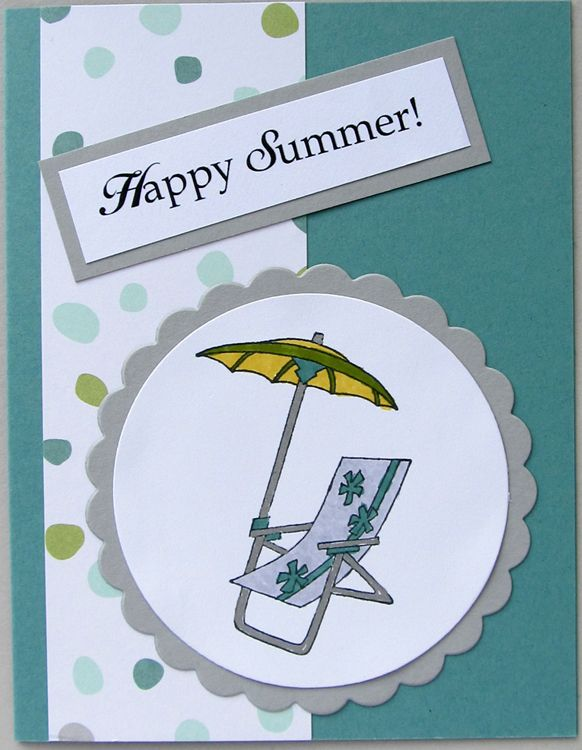 Stampin/' Up Sparkling Summer