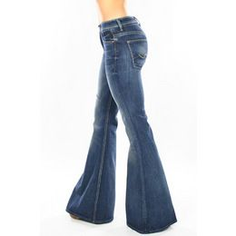 7 For All Mankind Bell Bottom Super Flare Jean In Vintage