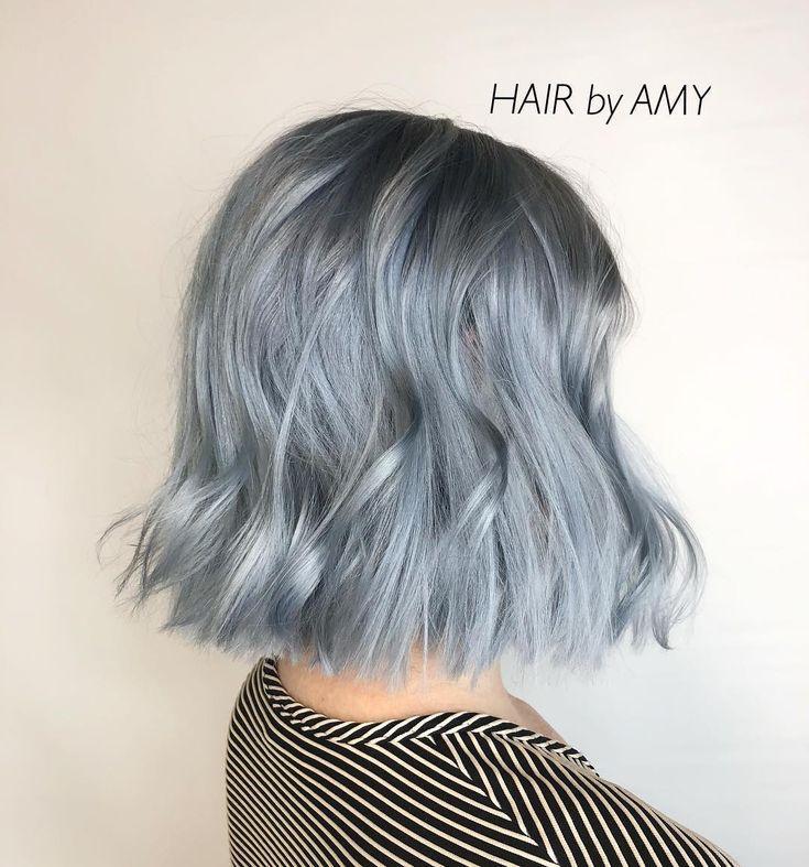Hair By Amy Ice Blue Mavi Sac Boyalari Mavi Sac Modelleri Mavi Sac Renkleri