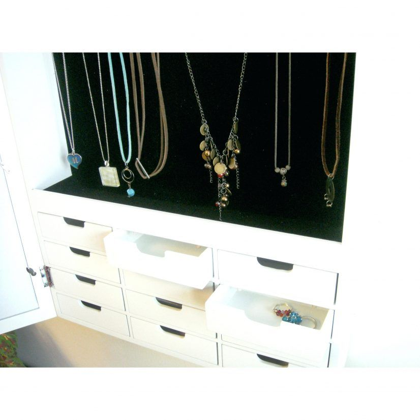 Keep Your Jewelry Safe And Long Term With The Best Wall Mounted Armoire Mirror
