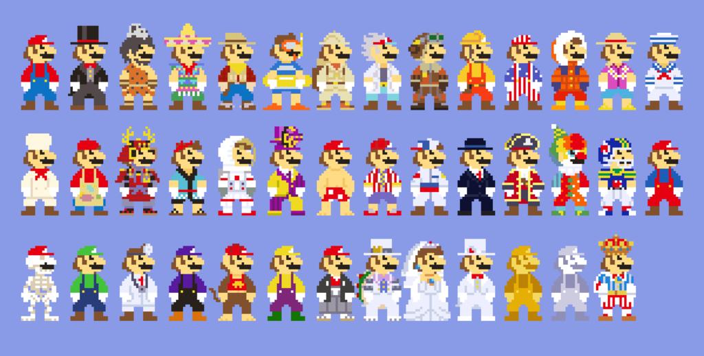 Image Result For Pixel Mario Odyssey Perles Hama Mario Et