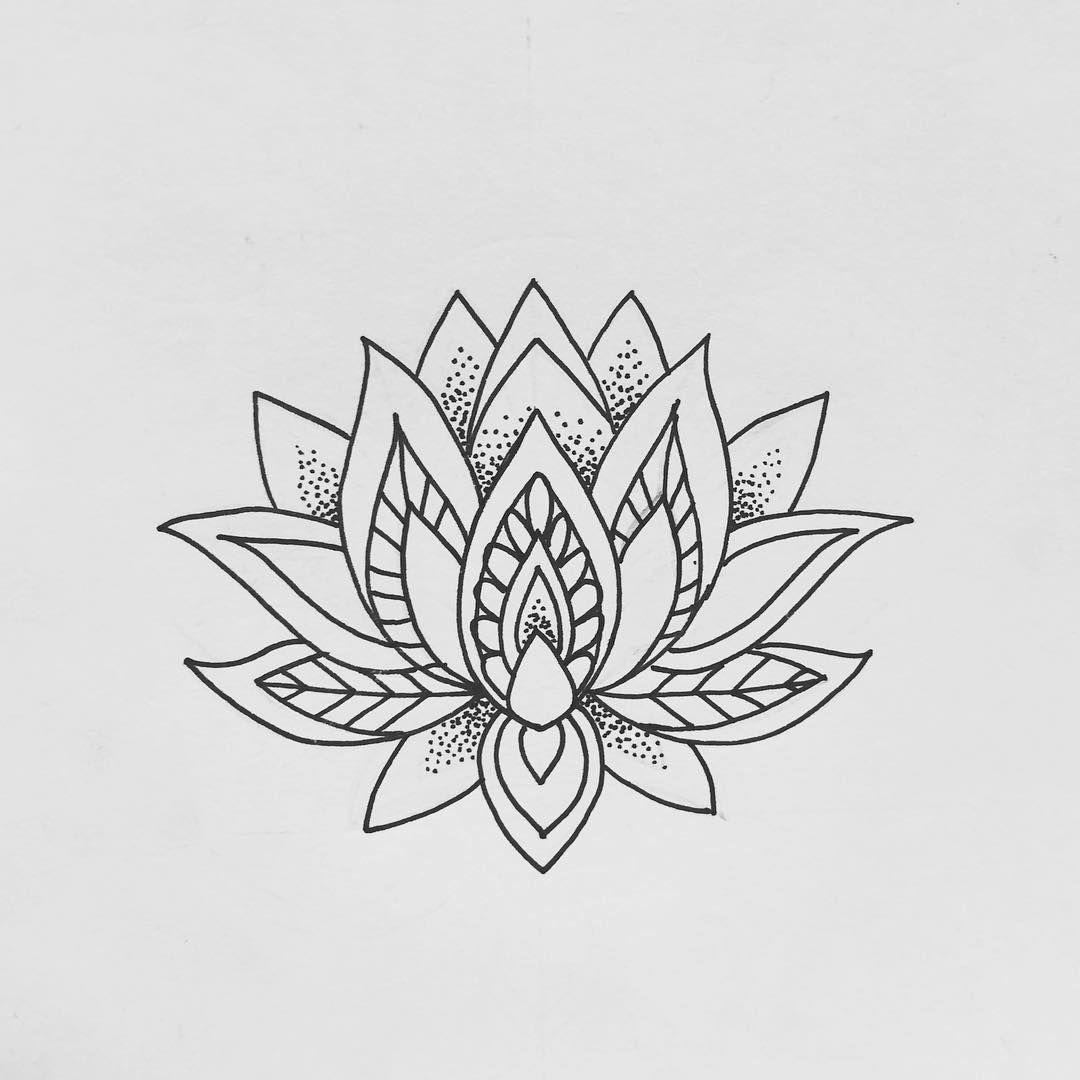 Lotus Lotustattoo Lotusflowertattoo Tattoodesign Mandala Mandalatattoo Tattooaprentic Small Lotus Flower Tattoo Lotus Tattoo Design Flower Thigh Tattoos