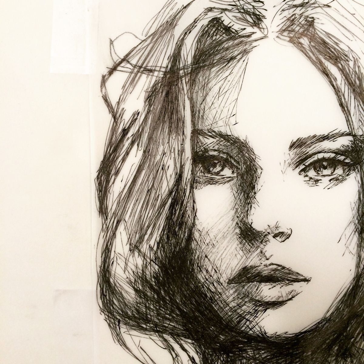 Gorgeous Work Ballpoint Pen Art Sketches Portrait Sketches