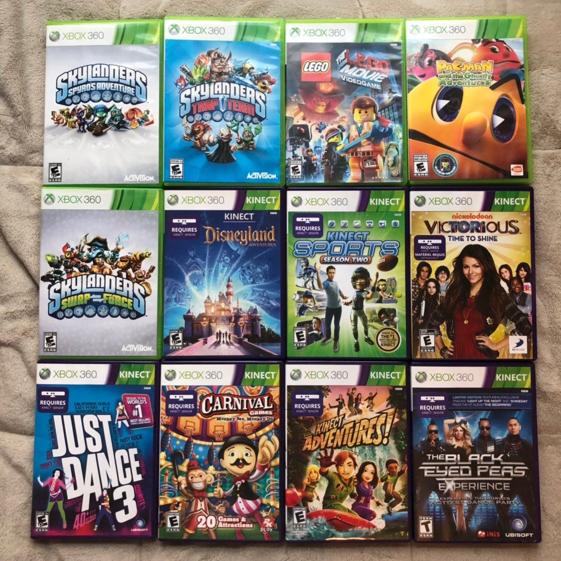 This Listing Is For One 12 Separate Xbox 360 Video Games All Games Are In Good Condition Most Xbox Games Ret Xbox 360 Video Games Skylanders Spyro All Games