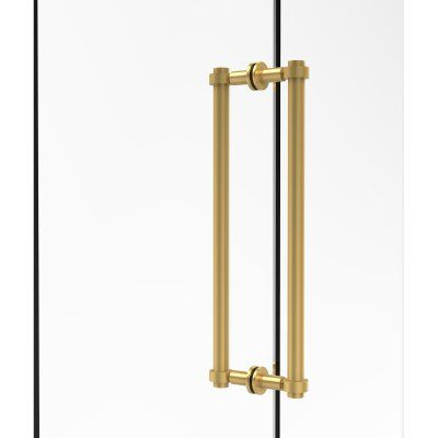 Allied Brass 404-18BB Back to Back 18 in. Shower Door Pull - 404-18BB-ABR