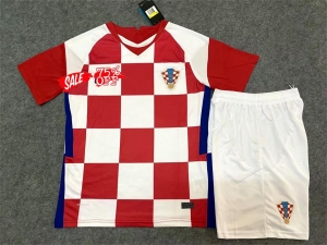 Kids Youth Croatia 2020 Euro Wholesale Home Cheap Soccer Kit Sale Shirt Kids Youth Croatia 2020 Euro Wholesale Home Cheap So In 2020 Soccer Kits Kids Soccer Kids Suits