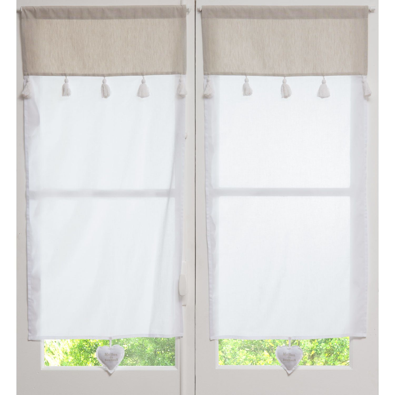 Galleria delle 200 tende più belle Curtains Net Curtains Ready Made Eyelet Tie Top Curtains Cortinas Cortas Cortinas Visillos