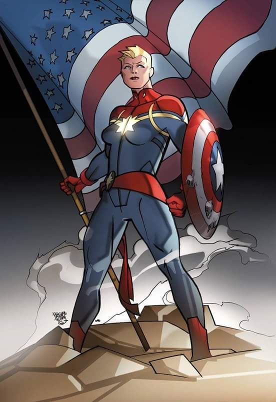 Art Vault : Photo   Captain marvel, Captain marvel carol