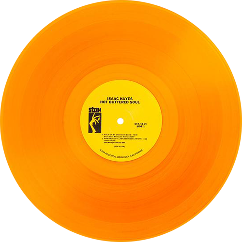 Hot Buttered Soul Album By Isaac Hayes Limited To 500 Copies On Translucent Gold Vinyl Collection Of Unusual Rare Vinyl Instagram Editing Rare Vinyl Vinyl