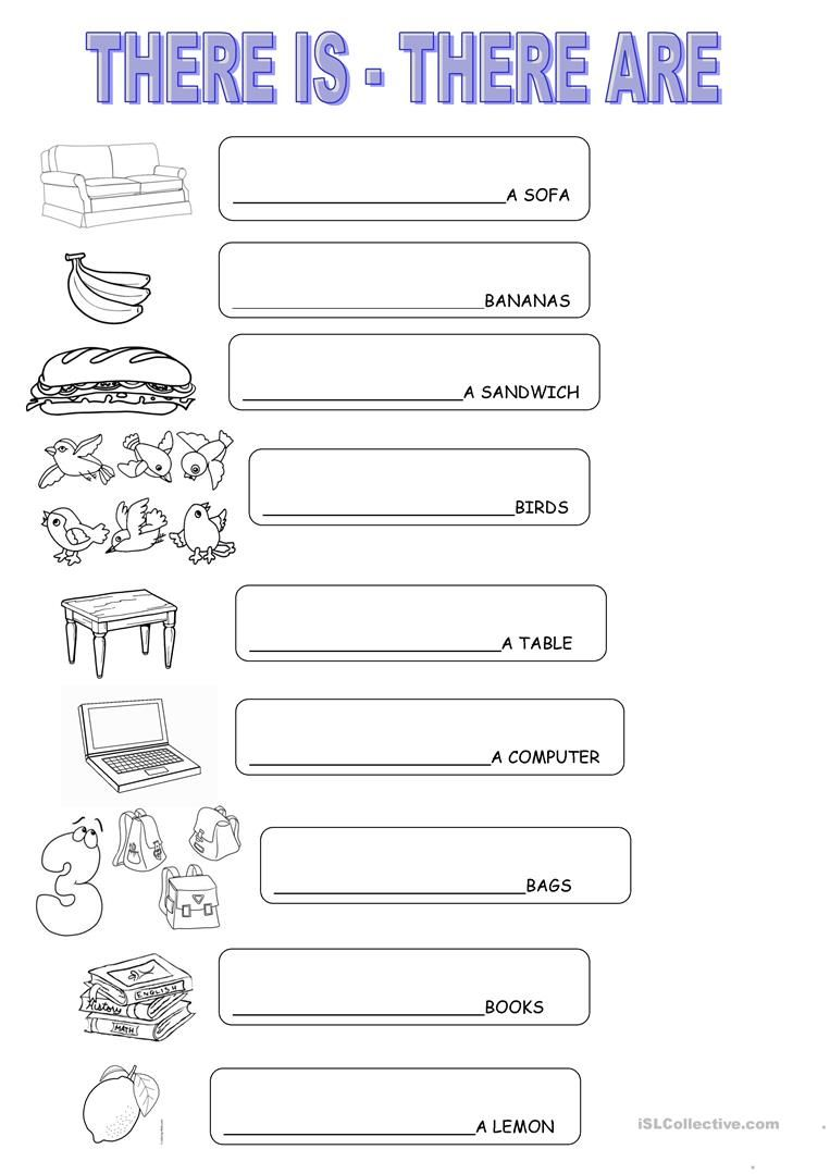 There Is There Are English Esl Worksheets English Lessons For Kids English Worksheets For Kindergarten Grammar For Kids [ 1079 x 763 Pixel ]