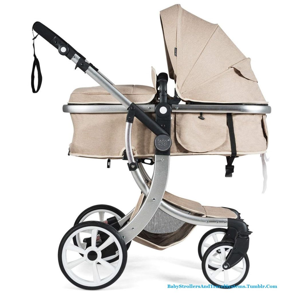 FOLDABLE SLEEPING BABY JOY BABY STROLLER 2IN1