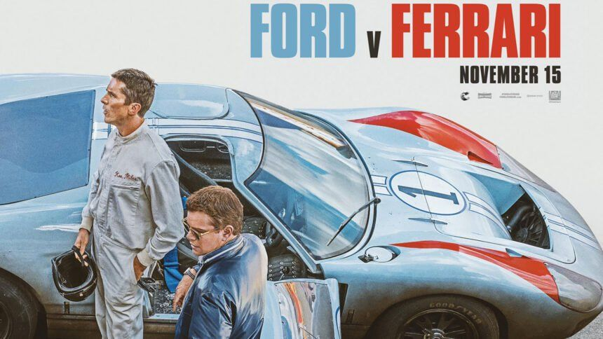 Ford Vs Ferrari Carroll Shelby Ferrari Le Mans