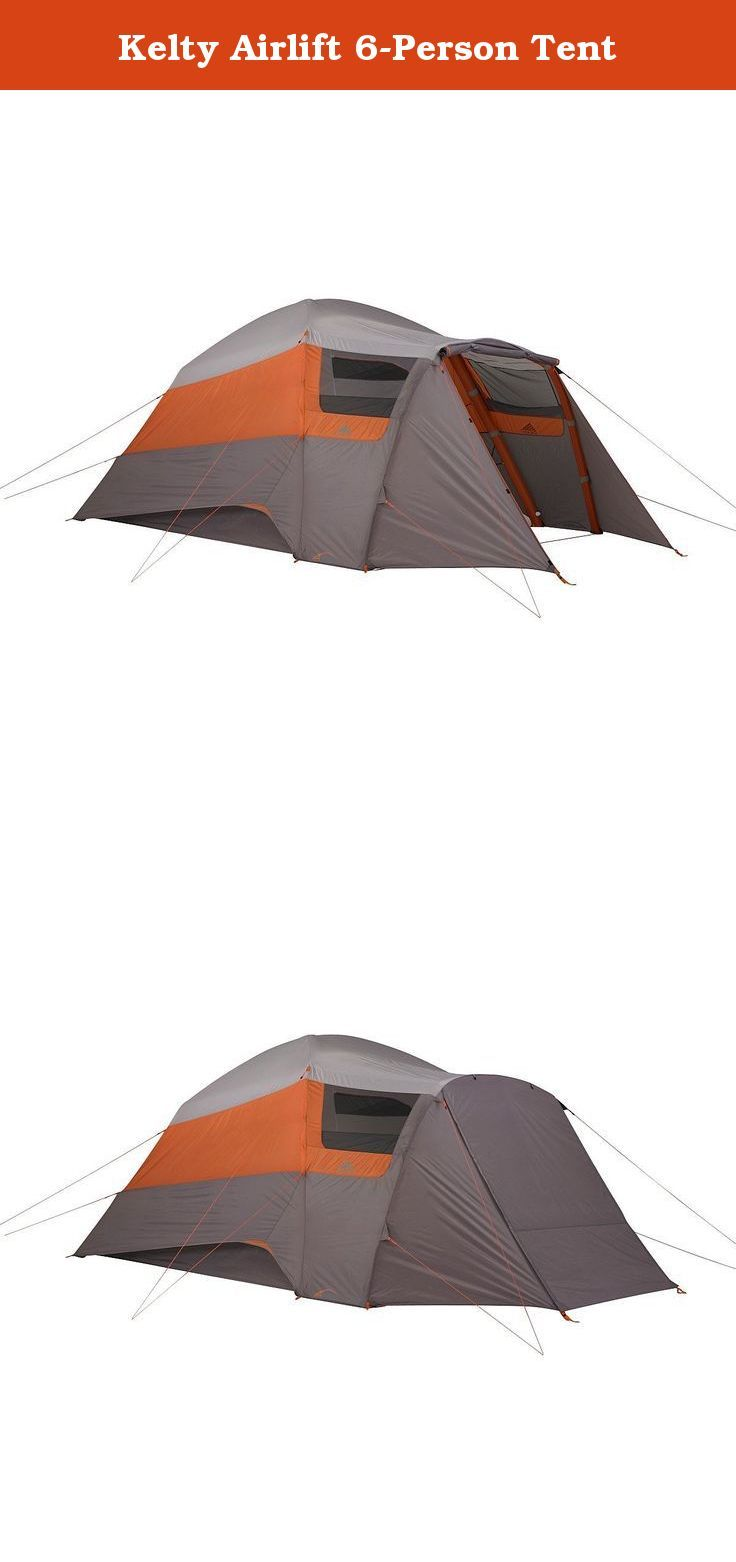 Kelty Airlift 6-Person Tent. Raise the roof in no time with Keltyu0027s AirPitch  sc 1 st  Pinterest & Kelty Airlift 6-Person Tent. Raise the roof in no time with ...