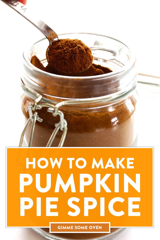 Pumpkin Pie Spice Recipe Pumpkin pie spice, Food