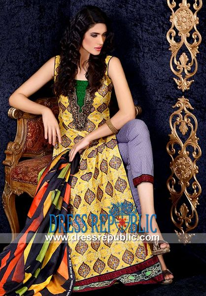 Asim jofa luxury 2014 lawn clothes online buy asim jofa for Shirt printing stockton ca