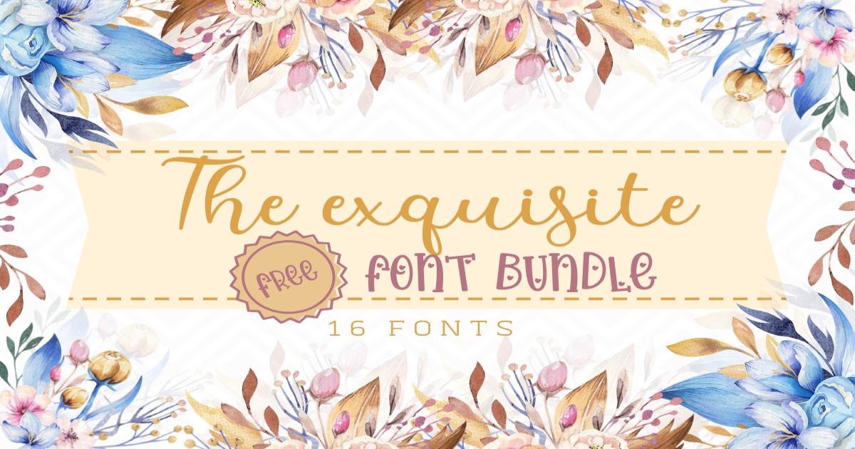 Download The Exquisite Free Font Bundle (Bundle) · Creative Fabrica ...