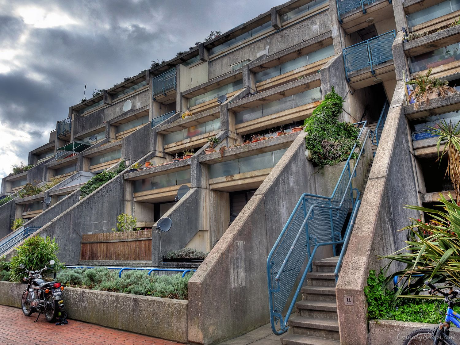 Photo Series Postmodern Architecture In London