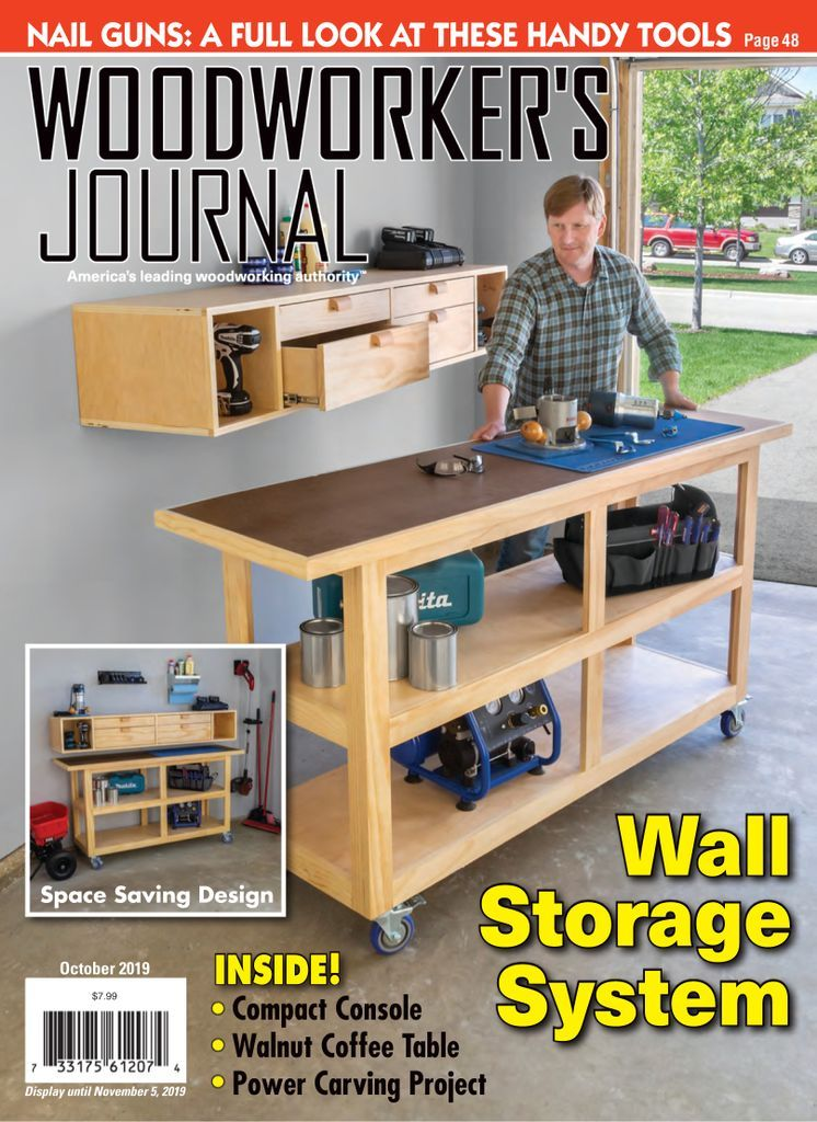Woodworker S Journal Back Issue October 2019 Digital In 2020 Wood Shop Projects Cool Woodworking Projects Woodworking Plans