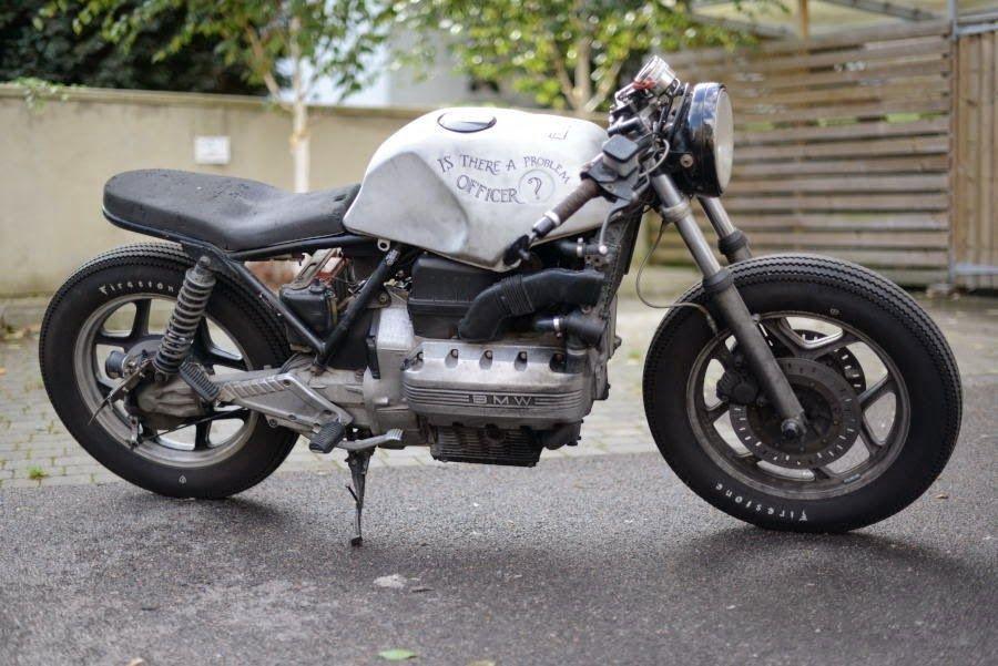 BMW K100LT 'Old Brick' http://goo.gl/6gzEls #1986AD #BMWMotorrad #K100LT #RatBike