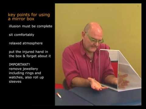 David Butler Explains Mirror Therapy From Mirror Box