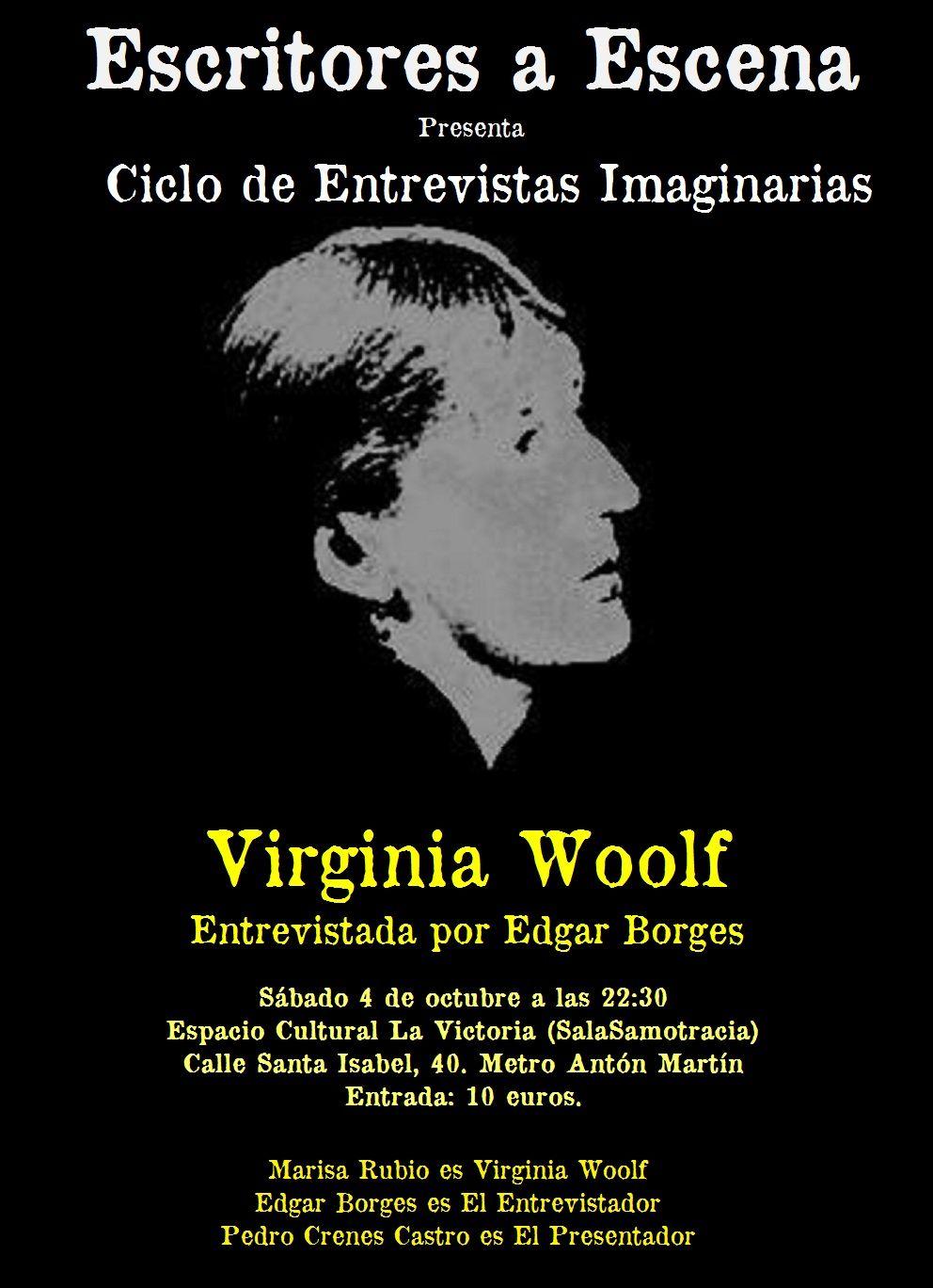 Entrevista imaginaria a Virginia Woolf