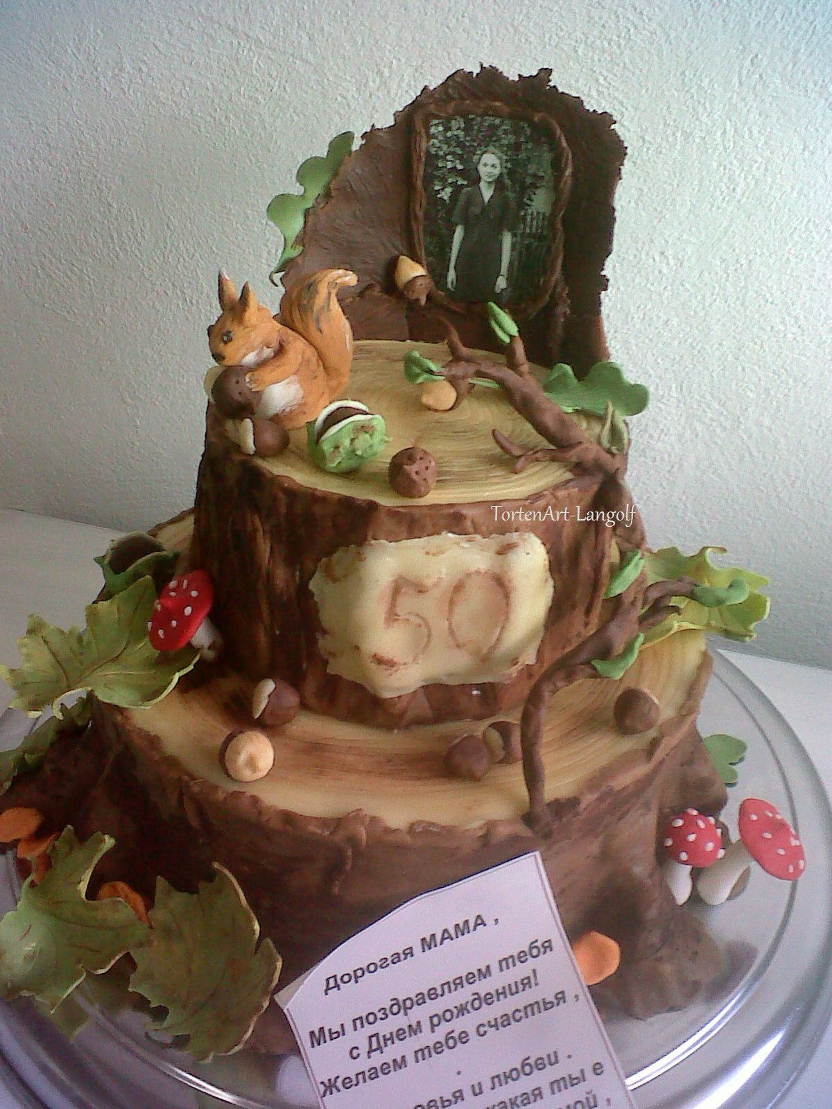 Wald Im Herbst Motivtorte Cakes Decorating Magnificent Cakes