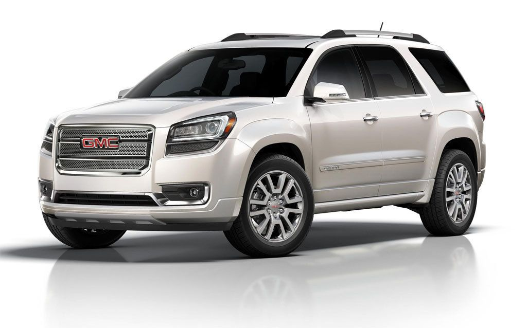 2016 Gmc Acadia Denali Changes And Release Date Auticars Com