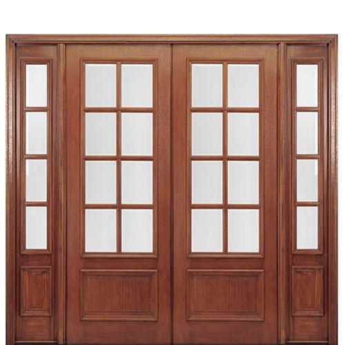 Dd88l 2 2 Double Doors Exterior Door Design Wood New Door Design