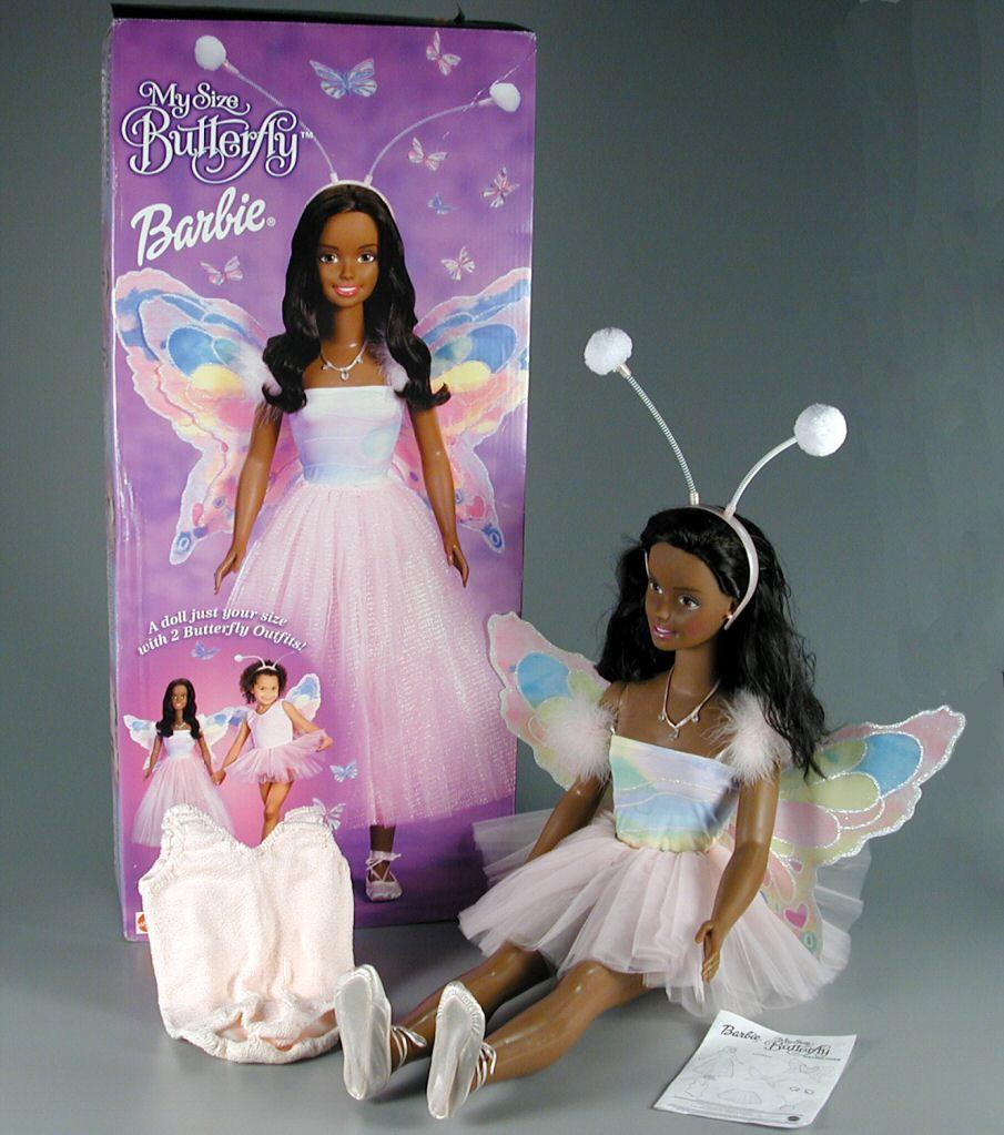 102 265 My Size Butterfly Barbie Doll Doll Set Barbie Dolls