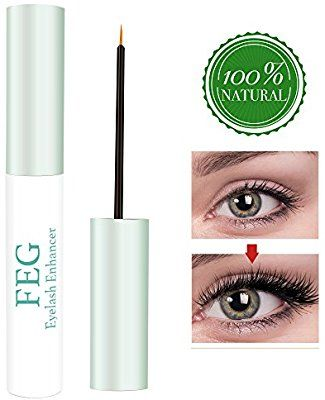 ac9bcdcac6b 100% Natural Extract Eyelash Growth Serum Eyelash Enhancer for Longer,  Thicker, Fuller Eyelash: Amazon.ca: Beauty