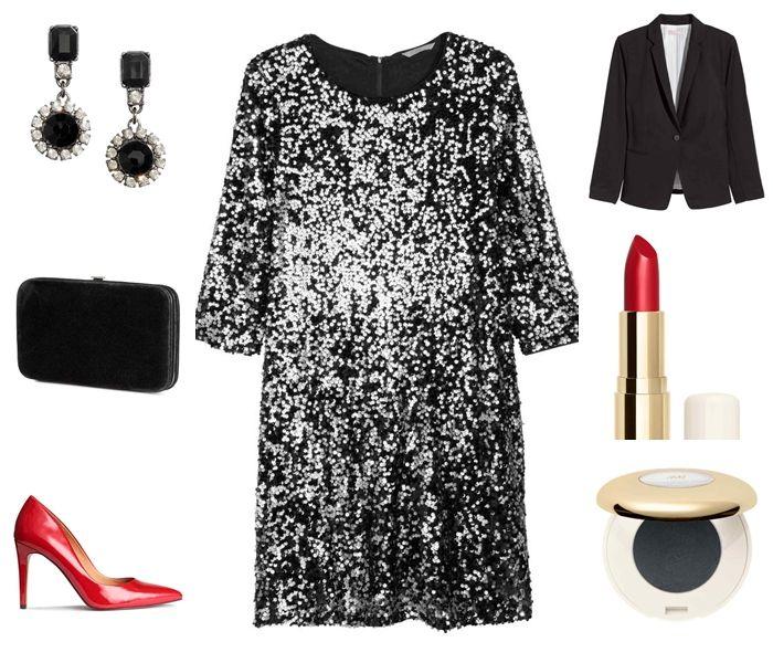 Nochevieja Tallas Grandes H M Look Vestidos Vestido Lentejuelas Y Moda Estilo