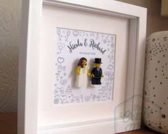 Lego Wedding Gift Mini Figure Bride Groom Wedding Gift For