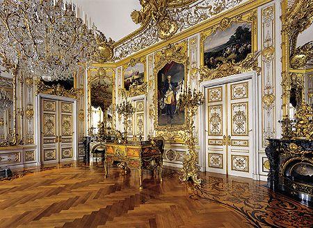 Neues Schloss Herrenchiemsee Inhalt Neues Schloss Herrenchiemsee Arbeitszimmer Herrenchiemsee Schloss Palast Interior