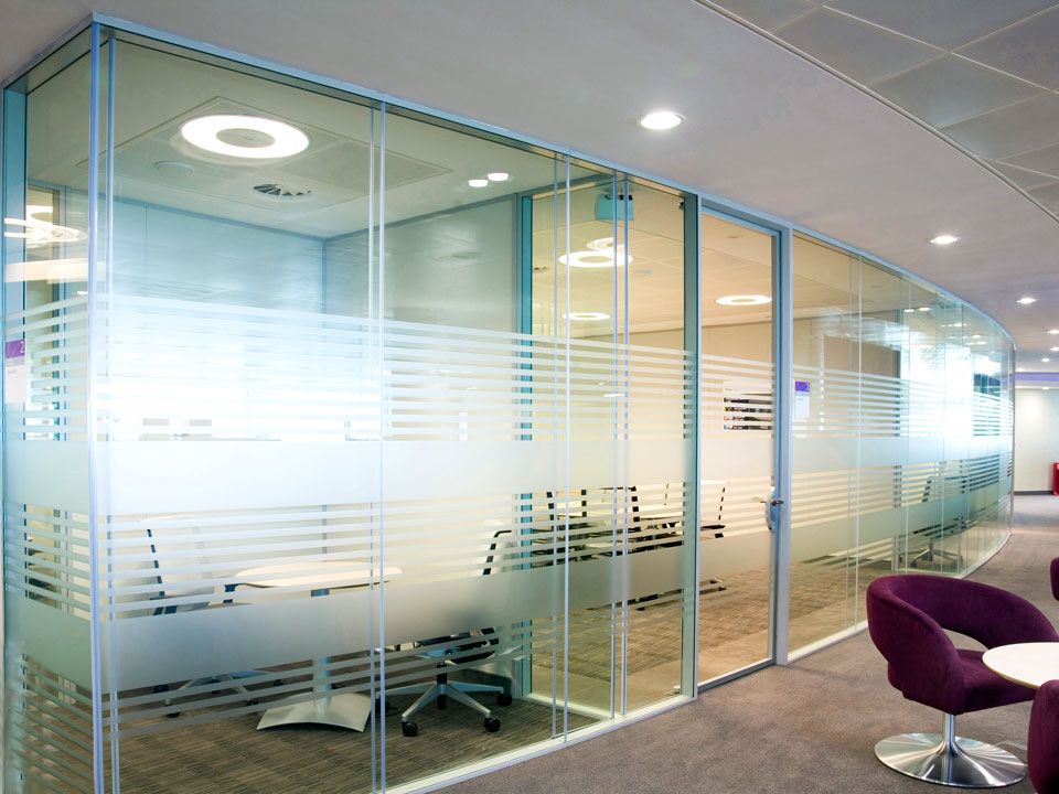 Double Glazed Glass | Office Partition Panels | Avanti Systems USA