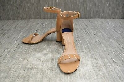 Stuart Weitzman 75Lessnudist Patent Leather Sandals Women's Size 6.5M Adobe #fashion #clothing #shoes #accessories #women #womensshoes (ebay link)
