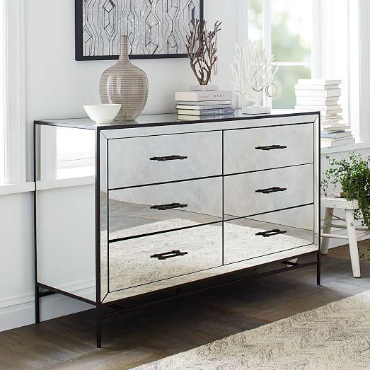 Best Mirrored 6 Drawer Dresserdresser6 Drawermirrormirror 640 x 480