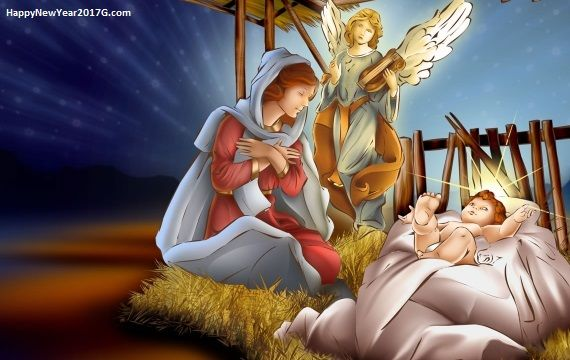 Christmas Jesus Wallpaper.Pin On Merry Christmas 2017 Hd Images Wallpapers Messages