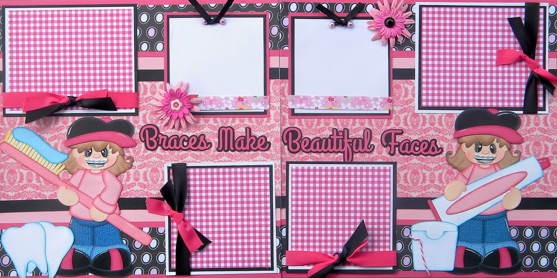 How to make scrapbook in facebook - My Newest Layout Using Braces Make Beautiful Faces And Tt Becky Https Www Facebook Com Scrapbookinmomma Ref Hl Pinterest Beautiful Braces And Faces