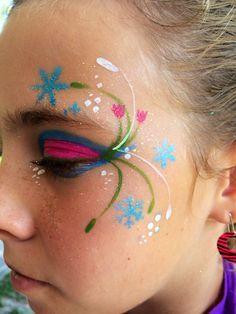 Anna Frozen Face Painting Google Search Bemalte Gesichter