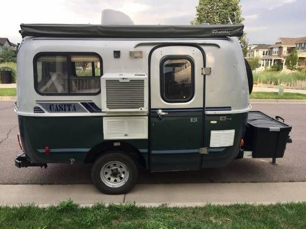 Sold 1998 13 Casita Trailer 10800 Denver Co Fiberglass Rv S For Sale Camping Trailer For Sale Discount Camping Gear Casita Trailer