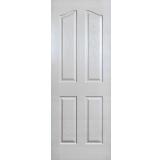 4 Panel Archtop Textured Interior Door | Interior Doors at Northwest Building Supply