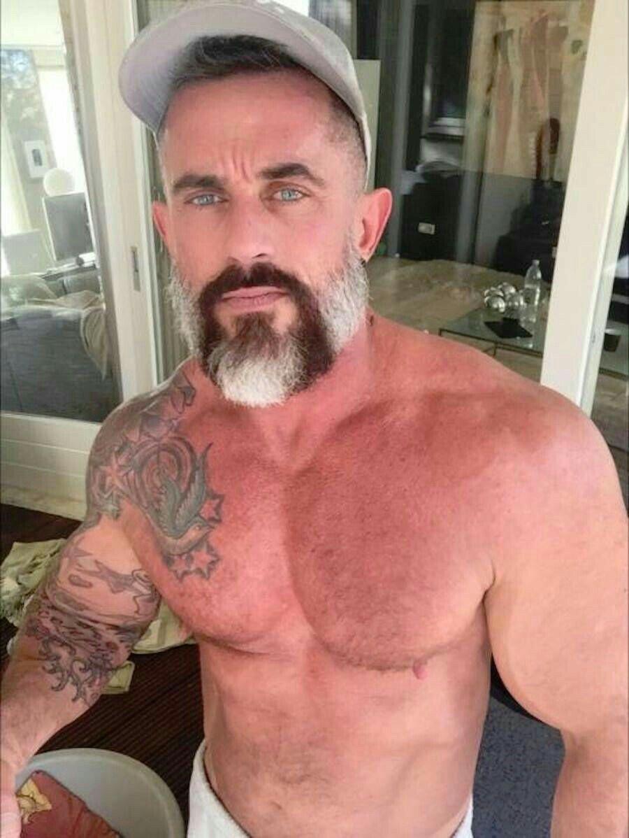 Hairy mature italian