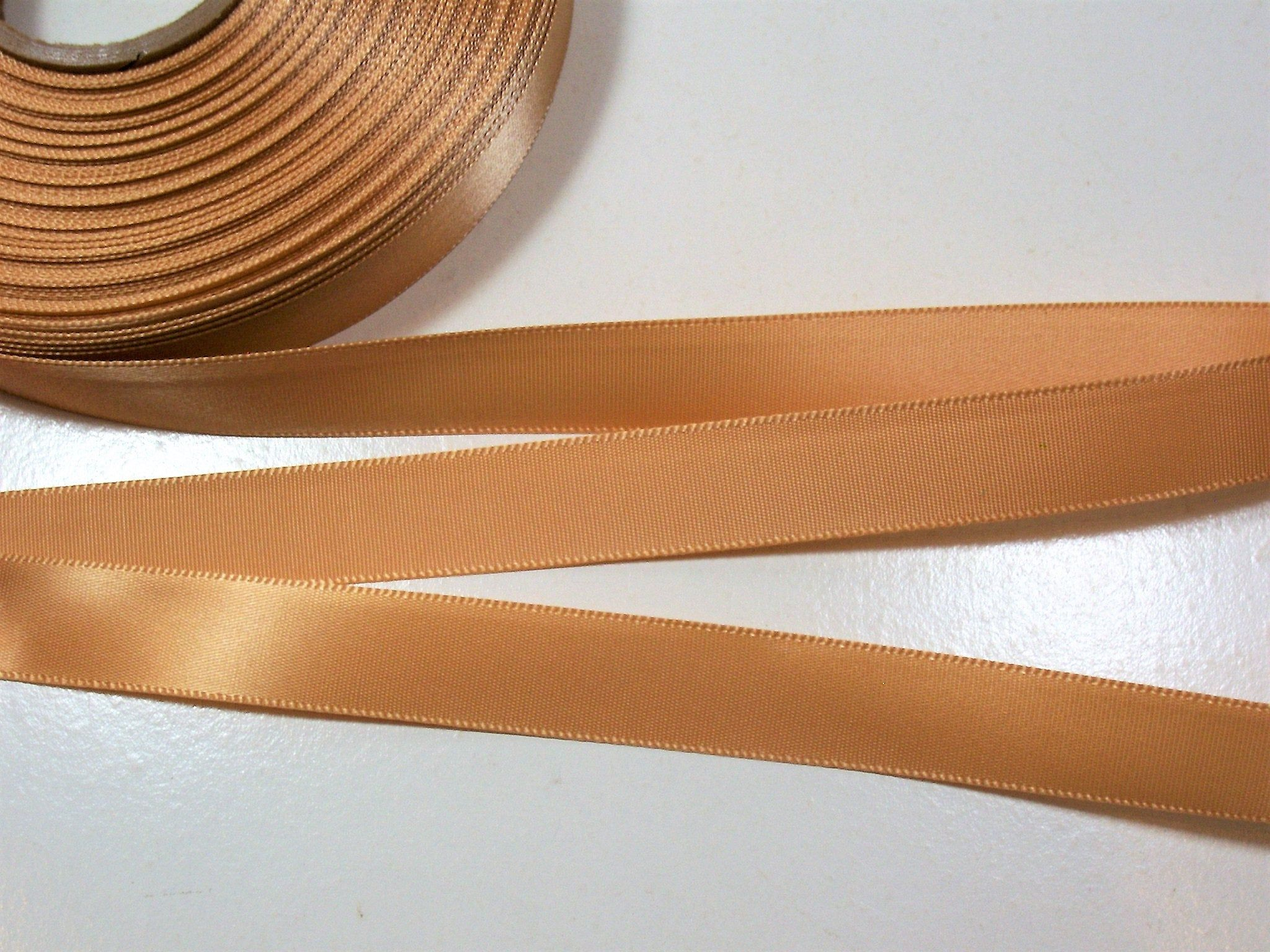 Light Brown Ribbon Offray Russet Satin Ribbon 5 8 Wide Etsy Brown Russet Light Brown