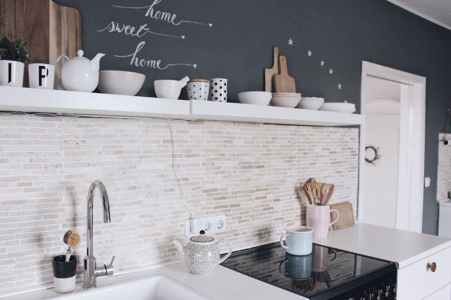 Küche neu gestalten - schnell und einfach mit Tafelfarbe | Küche neu ...