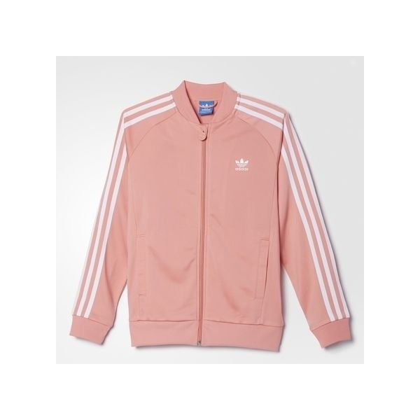 adidas Superstar Track Jacket MULTI $50.00 ? liked on Polyvore featuring  activewear, activewear jackets,