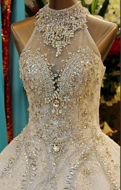 Swarovski Crystals Wedding Dress