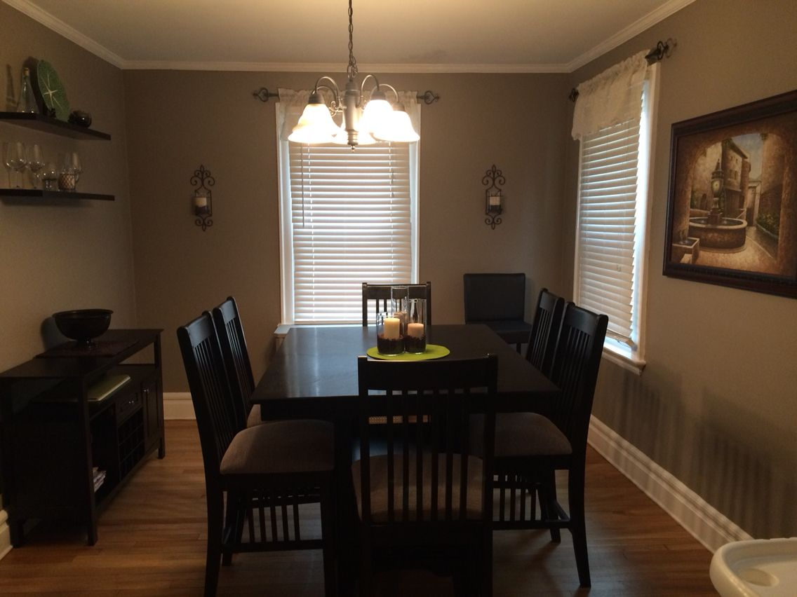 Rustic Taupe From Behr Paint Dining Room Pinterest Dining Room
